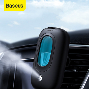 Baseus Car Air Humidifier Portable Diffuser with Magnetic Car Air Vent Mount Holder Aromatherapy Air Freshner Mini Air Purifier(China)