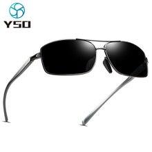 Черные поляризованные солнцезащитные очки yso 2020 для мужчин