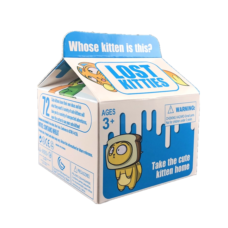 2019 New Surprise Box Lost Kitties Slime Surprising Cute Kitten Slime Squishy Toy Lost Kitties Toys For Children Surprise Gift