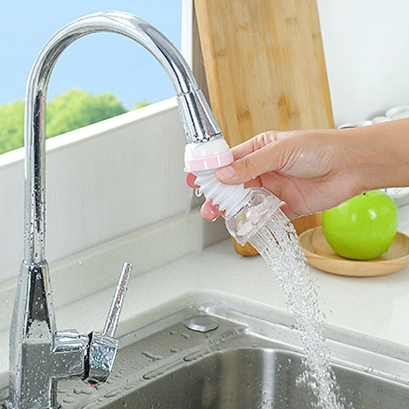 Creative Kitchen Faucet Adjustable Tap Extender Faucet Saving Water for Kitchen