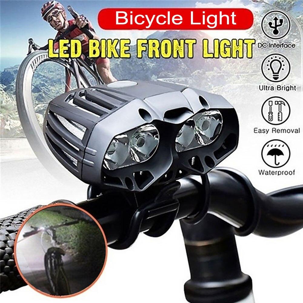 Ultra Bright CREE T6 LED Cycling Bike Bicycle Front Light Lamp Headlight USB