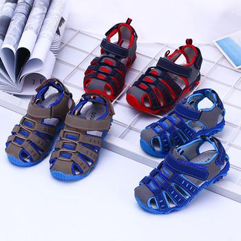 2021 nowe letnie dziecięce buty dziecięce chłopięce sandały dziecięce oddychające buty miękkie dziecięce drążą obuwie Sneakers sandały tanie i dobre opinie 13-24m 25-36m 4-6y 7-12y CN (pochodzenie) CZTERY PORY ROKU oddychająca Chłopcy Buty casualowe RUBBER Dobrze pasuje do rozmiaru wybierz swój normalny rozmiar
