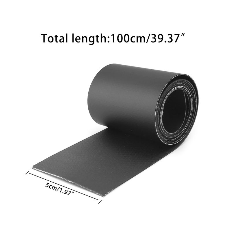 1 Roll 50*1000mm Inflatable Boats Kayak Special Damaged Leaking Hole PVC Repair Patch Kit Glued Waterproof Patch Tool Boat X3UA