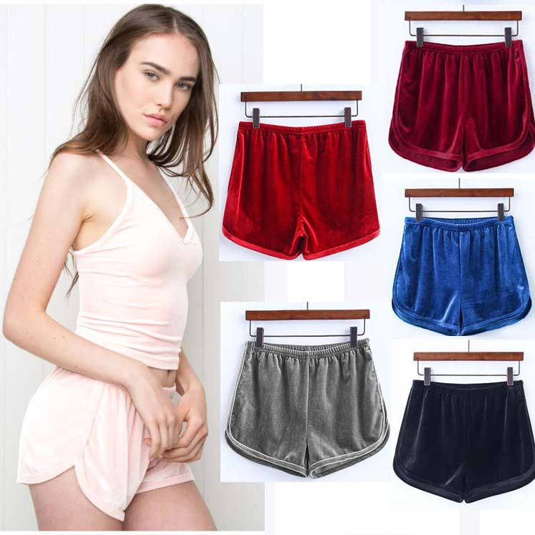 OWLPRINCESS 2020 Summer New Style Shorts Women's Elastic Waist Casual Pants Loose Beach Shorts Women's