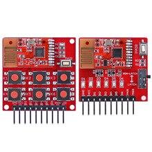2.4 グラム 2.5 グラムワイヤレススイッチリモートキット 6 チャンネル送信受信機モジュールプログラミングなしで diy オンボードペアボタン