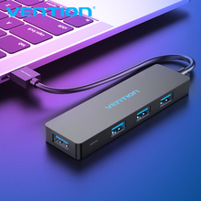 Vention USB HUB 3.0 HUB USB 2.0 HUB Multi USB Splitter Adapter 4 Ports Speed with Micro USB Charging Port for PC Laptop HUB USB