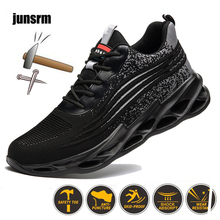 Work-Boots Industrial Safety-Shoes Lightweight Steel Outdoor Sports Breathable Winter