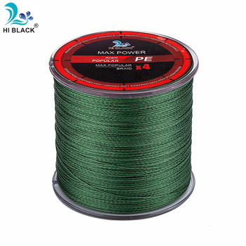 2019 New 300M 500M 1000M 4 Strands 8-80LB Braided Fishing Line PE Multilament Braid Lines wire Smoother Floating Line 1
