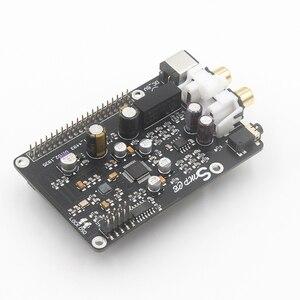Image 5 - AK4493 AK4493EQ DAC Decoder Board Digital Broadcast Network Player I2S 32BIT 384KHZ DSD128 For Raspberry Pi 2B 3B 3B+ DAC