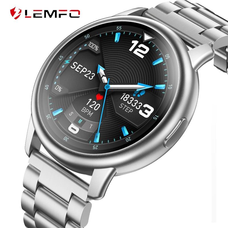LEMFO LF28 Smartwatch 2020 IP68 водонепроницаемый несколько спортивный режим сердечного ритма, Смарт-часы для мужчин для IOS и Android Xiaomi