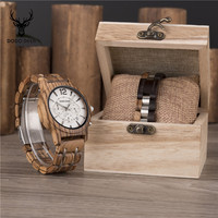 Original Men Vogue Unique Creative Wooden Timepieces with Bracelet Military Watches Male Clocks Moment Watch Beat Gifts C13+S01