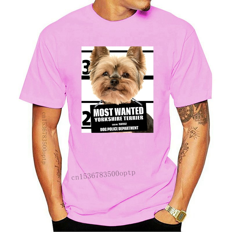 Yorkshire Terrier Face T-Shirt Oversized Dog Mountain 100/% Cotton Adult