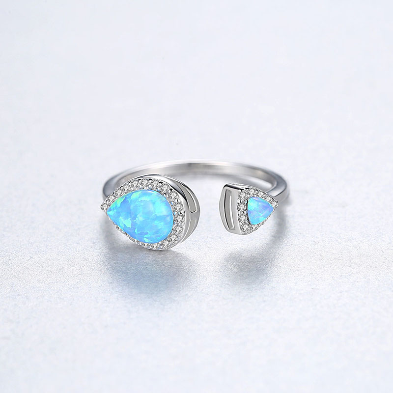 925 silver Gemstone Ring for women 5
