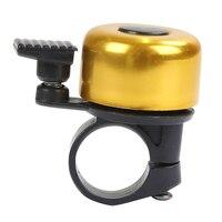 Fahrrad Glocke Zubehör Für Sicherheit Radfahren glocken Metall Ring Schwarz Fahrrad Glocke Horn Sound Alarm Outdoor Schutzhülle Glocke Ring 1 stücke-in Fahrradklingel aus Sport und Unterhaltung bei