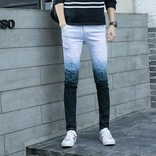 Skinny Jeans Men New 2019 Slim Denim Jeans Joggers Stretch Male Pencil Pants Straight Mens Jeans Classic Fashion Casual Hombre цена