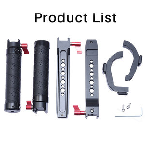 Image 5 - Uurig Dji Ronin Sc/S Dual Handleld Camera Stabilizer Verlengen Handvat Grip Voor Dji Ronin Sc/S Gimbal stabilizer Accessoires