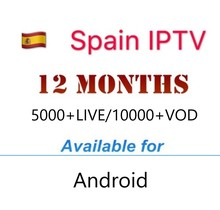 Get more info on the Spanish IPTV Subscription Spain italia DE Portugal IPTV Abonnement live channels France Espana for tv box android 9 Smart tv