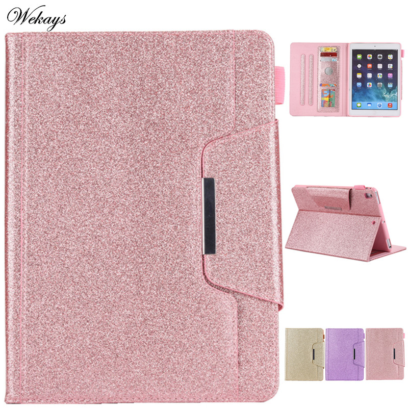 Cover For iPad 10 2 inch 2019 Glitter Bling Leather Funda Case For Coque iPad 10
