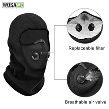 Cycling-Headwear FILTER-FACE-COVER Sport Motocycle WOSAWE Winter with Activated-Carbon