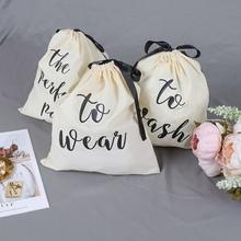 3PS angielski druk alfabetyczny torba do przechowywania ubrań składana sznurkiem torba do przechowywania ubrań trwała brudna torba do przechowywania ubrań tanie tanio Bawełna