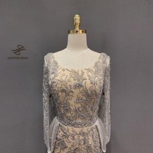 Image 5 - ダイヤモンドビーズノースリーブマーメイドフォーマルドレス2020新ドバイevenningドレス