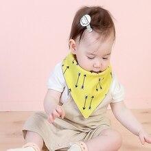 Baby Bibs Scarf Cloth-Accessory Saliva-Towel Burp-Fabric Infant Cotton Brand 2-Layers