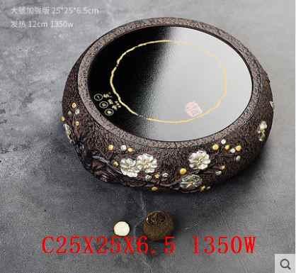 Palniki stare rocka gliny elektryczne ceramiczne naczynie na herbatę kuchenka mini-elektromagnes elektromagnetyzm piec żelazny garnek szkło nowy