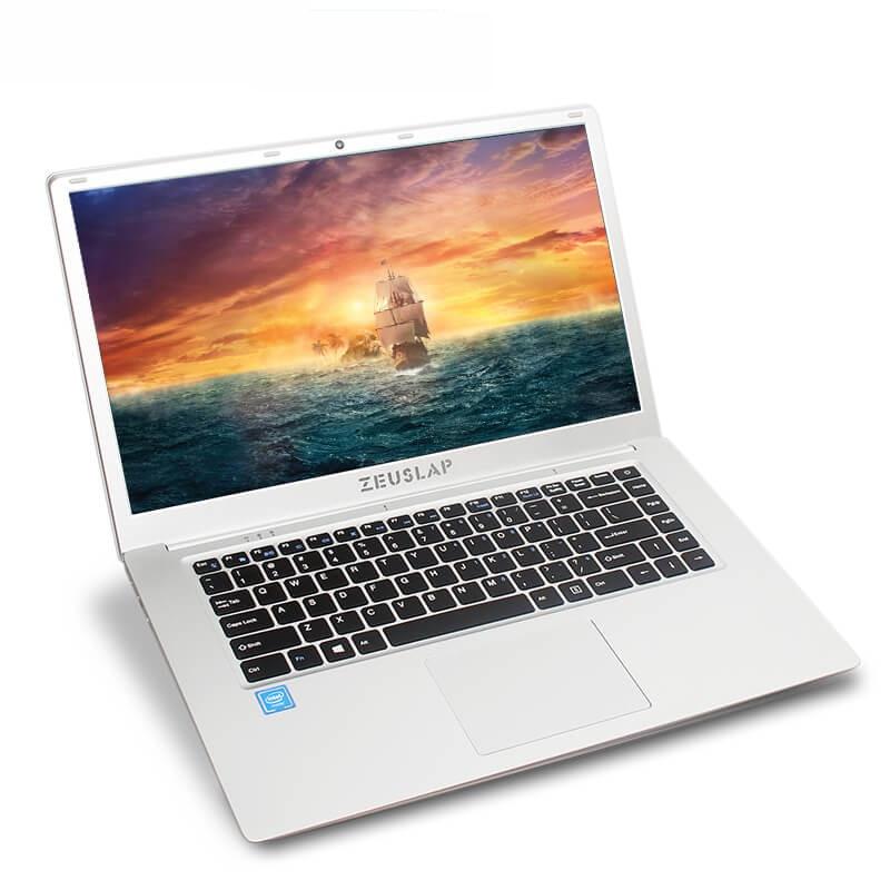 ZEUSLAP 15.6inch Narrow Frame 1920x1080P FHD Intel Quad Core  CPU 4GB DDR3 64GB EMMC Windows 10 Ultrabook Laptop Notebook
