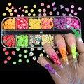 3D фрукты крошечные ломтики переводные наклейки на ногти смешанные Стиль из полимерной глины, украшение для ногтей, дизайн ногтей профессио...