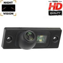 Invertendo câmera 1280x720p vista traseira câmera de backup para vw golf plus vw golf mk4 r32 vw passat vw t5 touran vw caddy skoda superb