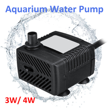 Adjustable 3W/4W Small Submersible Eco Aquarium Fish Tank Pond Water Feature Pum