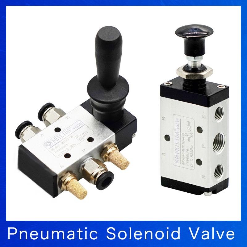 """Válvula de control de flujo Neumático velocidad ASC-08 de una manera de dos posiciones G1//4/"""""""