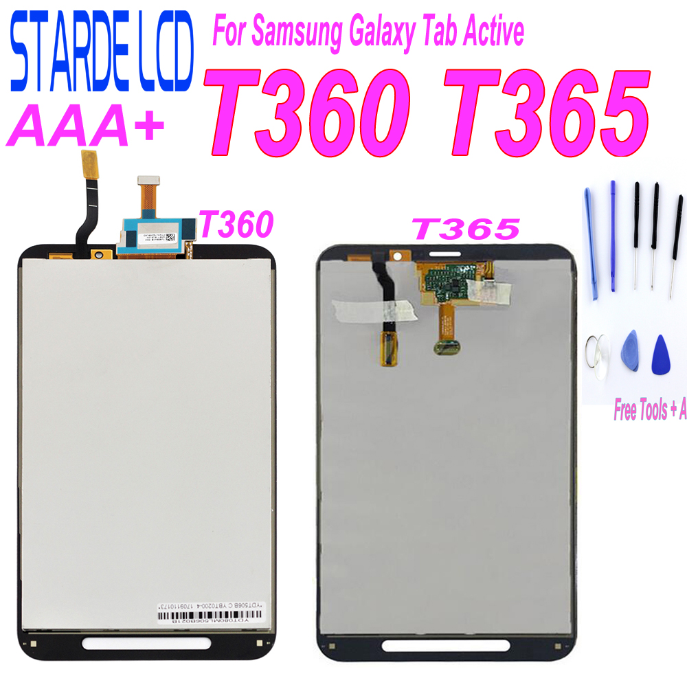 STARDE LCD For Samsung Galaxy Tab Active 8.0 SM-T360 T360 SM-T365 T365 LCD Display Touch Screen Digitizer Assembly
