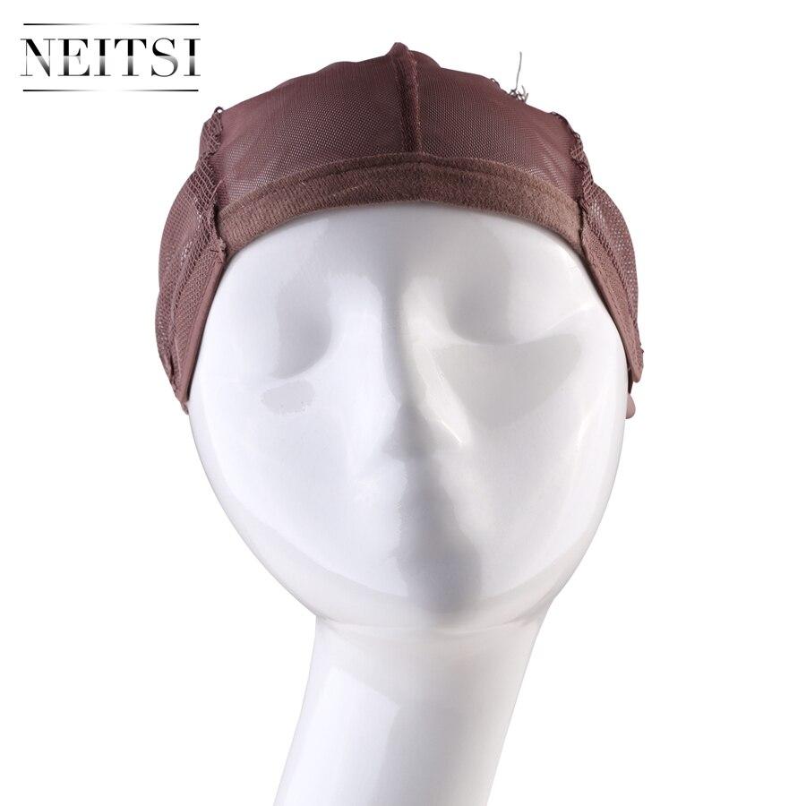 perucas com alça ajustável bonnet laço perruque