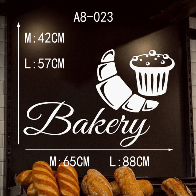 Donuts,Food,Pastry Baked goods Baked products Bakery Wall Decal Window Sticker Handmade  t995