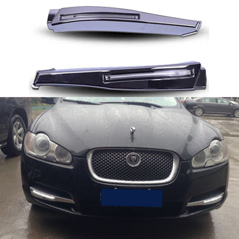 For Jaguar XF 2008 2009 2010 High brightness 12V Waterproof LED DRL Daytime Running Lights Fog Lamp цена 2017
