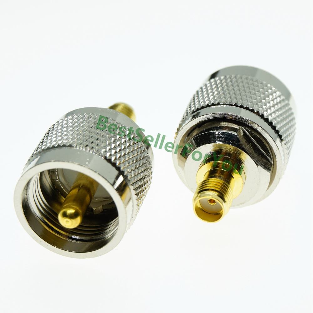 SMA Female Jack To UHF PL 259 Male PL259 SO239 Plug RF Adapter Connector RADIO