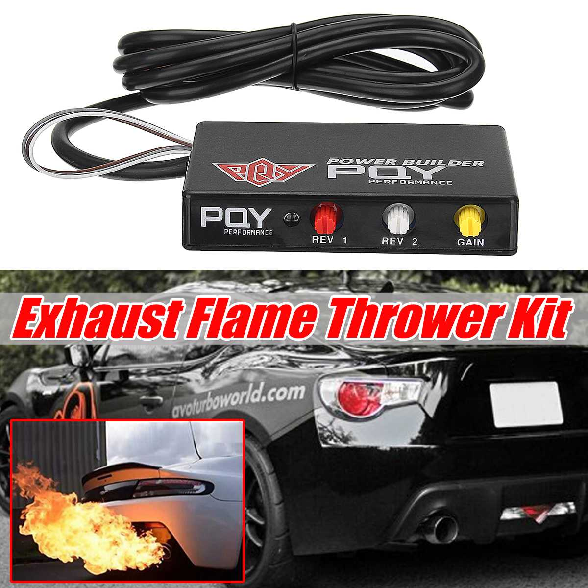 Universal Engines Performance Limiter Power Builder Exhaust Flame Thrower Kit Flame Thrower For Exhaust For Nissan For Subaru