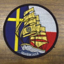 Custom Embroidery Patch DIY Creative design for Clothing Iron Sew On Garment 02