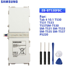 SAMSUNG Original Tablet Battery EB-BT530FBC For Samsung GALAXY Tab4 T530 T531 T533 T535 SM-T535 T537 SM-T530 EB-BT530FBU 6800mAh