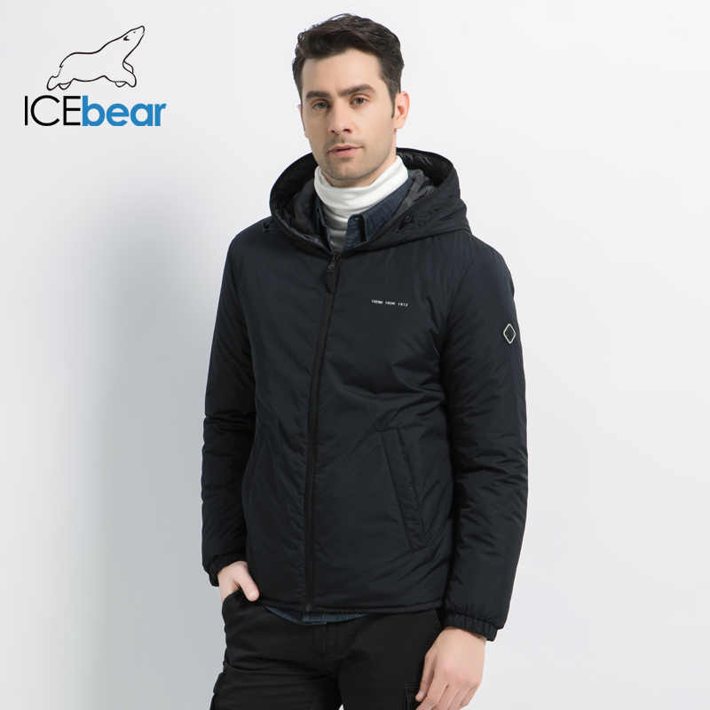 ICEbear 2019 new men's jacket in  double-wearing men's fall warm coat high quality casual men's clothing MWC19686I