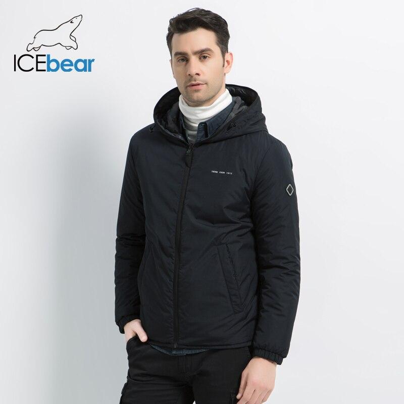 ICEbear 2019 neue männer der jacke in doppel tragen männer herbst warme mantel hohe qualität casual männer kleidung MWC19686I-in Parkas aus Herrenbekleidung bei  Gruppe 1