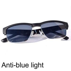Image 2 - Óculos de sol à prova dágua com bluetooth, óculos inteligente hifi com graves e toque inteligente, mãos livres, música, com microfone