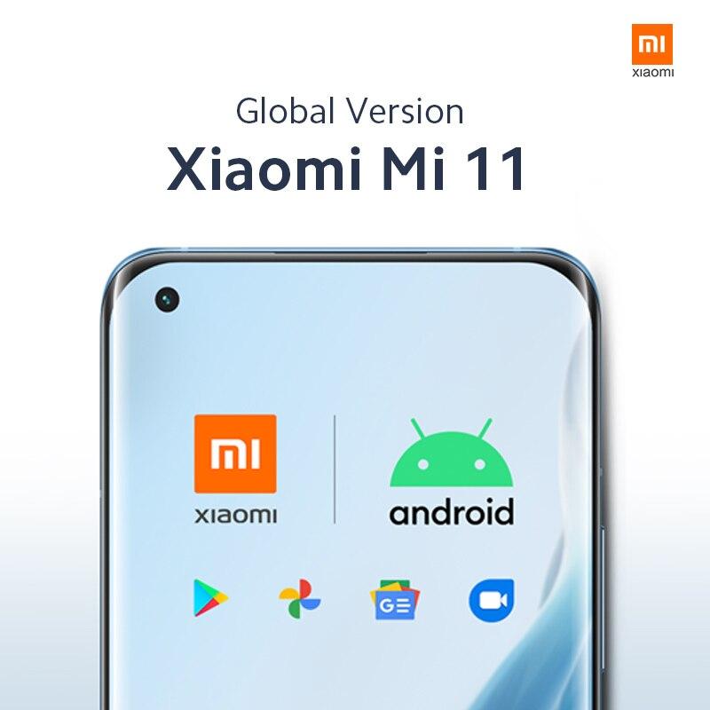 Xiaomi-teléfono inteligente Mi 11, versión global