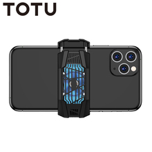 TOTU Mobile Phone USB Game Cooler System Cooling Fan Gamepad Holder Stand Radiator For iphone Xiaomi Huawei samsung phone