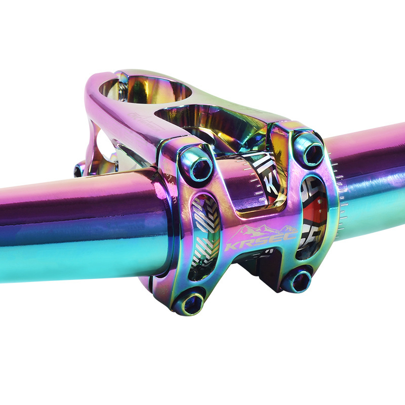 Road Bike Stem BMX DH AM XC 31.8*50mm Ultra Light Short Stem MTB Bike Parts Accessories Bicycle Handlebar Stem