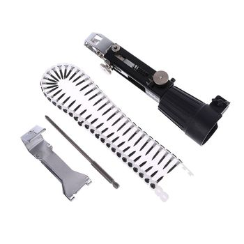 Automatic Power Drill Chain Nail Gun Adapter Screw Gun for Cordless Electric Drill Attachment Woodworking Tool 220v 530w 1pc screw speed control hand held electric drill automatic continuous electric screw gun wood finishing tool