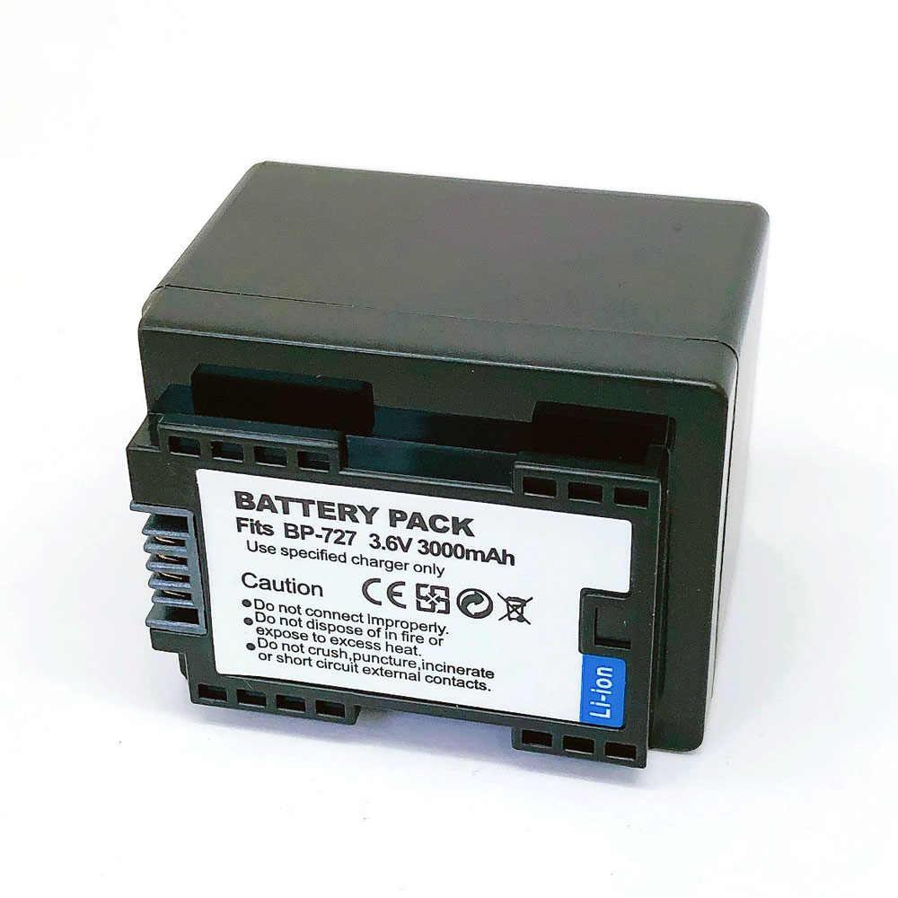 BP-727 BP727 BP 727 718 709 Аккумулятор для Canon HF R30 M50 M52 500 M56 M506 R36 R38 R306 R400 R500 R600 R60 R62 BP-709 BP-718