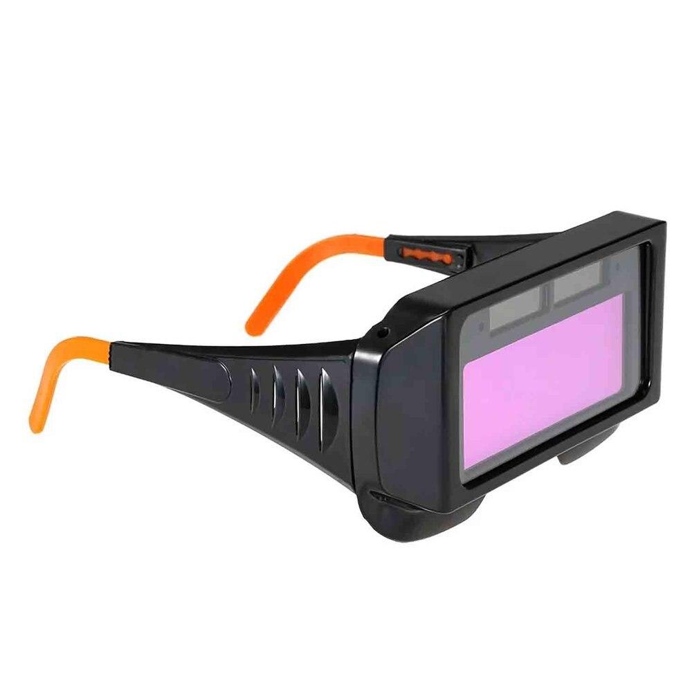 Solar Powered Auto Darkening Welding Glasses Glass Mask Helmet Goggle tx-012S