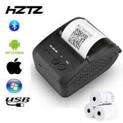 Di Động Bluetooth Máy In Nhiệt Mini POS Máy In Hóa Đơn Cho Điện Thoại Di Động Bỏ Túi 58 Mm Dự Luật Máy Dành Cho Siêu Thị